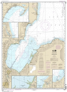 Picture of 14863 - Saginaw Bay Nautical Chart
