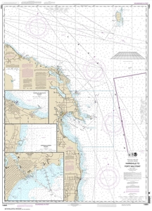 Picture of 14864 - Harrisville To Forty Mile Point Nautical Chart