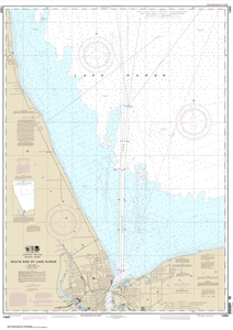 Picture of 14865 - South End of Lake Huron Nautical Chart