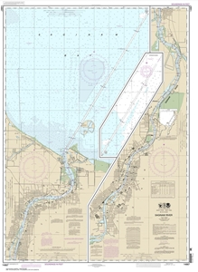 Picture of 14867 - Saginaw River Nautical Chart