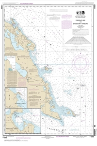 Picture of 14869 - Presque Isle And Stoneport Harbors Nautical Chart