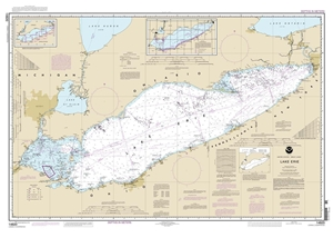 Picture of 14820 - Lake Erie Nautical Chart