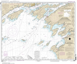 Picture of 14802 - Clayton To False Ducks Island Nautical Chart
