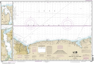 Picture of 14804 - Port Bay To Long Pond Nautical Chart