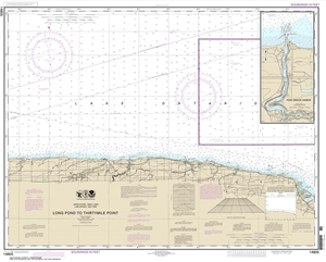 Picture of 14805 - Long Pond To Thirtymile Point Nautical Chart