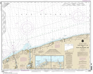 Picture of 14806 - Thirtymile Point, NY To Port Dalhousie, Ontario Nautical Chart