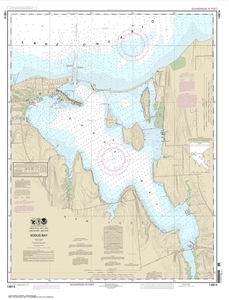 Picture of 14814 - Sodus Bay Nautical Chart