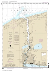 Picture of 14816 - Lower Niagara River Nautical Chart
