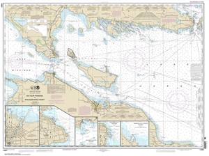 Picture of 14881 - De Tour Passage To Waugoshance Point Nautical Chart