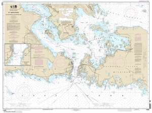 Picture of 14882 - St. Marys River - De Tour Passage To Munuscong Lake Nautical Chart