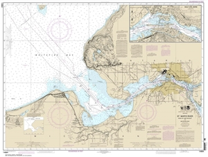 Picture of 14884 - St. Marys River - Head of Lake Nicolet To Whitefish Bay Nautical Chart