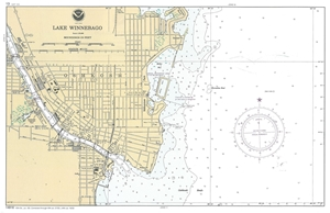 Picture of 14916 - Lake Winnebago And Lower Fox River Nautical Chart Book