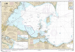 Picture of 14830 - West End of Lake Erie Nautical Chart