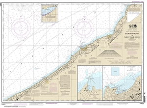 Picture of 14823 - Sturgeon Point To Twentymile Creek Nautical Chart