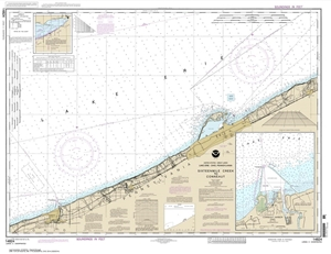 Picture of 14824 - Sixteenmile Creek To Conneaut Nautical Chart