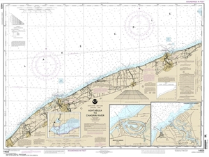 Picture of 14825 - Ashtabula To Chagrin River Nautical Chart