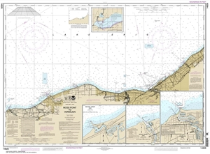 Picture of 14826 - Moss Point To Vermilion Nautical Chart