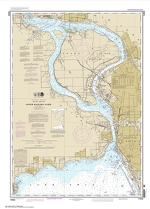 Picture of 14832 - Upper Niagara River Nautical Chart