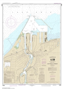 Picture of 14836 - Ashtabula Harbor Nautical Chart