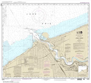 Picture of 14841 - Lorain Harbor Nautical Chart