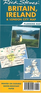 Picture of Rick Steves' Britain, Ireland & London Planning Map