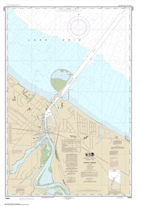 Picture of 14843 - Huron Harbor Nautical Chart