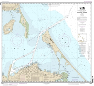Picture of 14845 - Sandusky Harbor Nautical Chart