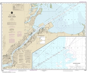 Picture of 14847 - Toledo Harbor Nautical Chart