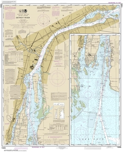 Picture of 14848 - Detroit River Nautical Chart