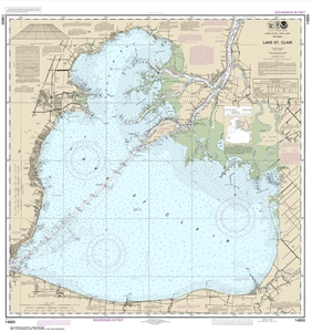 Picture of 14850 - Lake St. Clair Nautical Chart