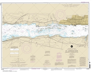 Picture of 14770 - St. Lawrence River - (Morristown, NY To Butternut Bay, Ontario) Nautical Chart