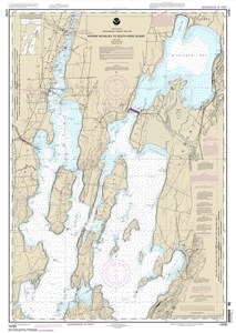 Picture of 14781 - Lake Champlain - Riviere Richelieu To South Hero Island Nautical Chart