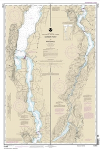 Picture of 14784 - Lake Champlain - Barber Point To Whitehall Nautical Chart