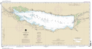 Picture of 14788 - New York State Canal System - Oneida Lake: Lock 22 To Lock 23 Nautical Chart