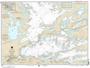Picture of 14998 - Boundary Waters - Rainy Lake - International Falls To Dryweed Island Nautical Chart