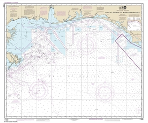 Picture of 11360 - Cape St. George To Mississippi Passes Nautical Chart
