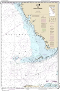 Picture of 11420 - Havana To Tampa Bay Nautical Chart