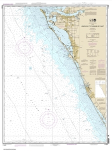 Picture of 11424 - Lemon Bay To Passage Key Inlet Nautical Chart
