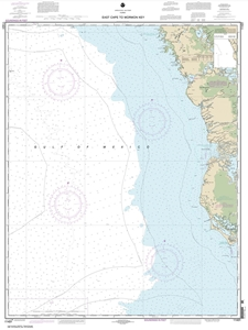Picture of 11431 - East Cape To Mormon Key Nautical Chart