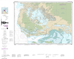Picture of 11433 - Everglades National Park - Whitewater Bay Nautical Chart
