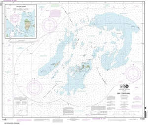 Picture of 11438 - Dry Tortugas Nautical Chart