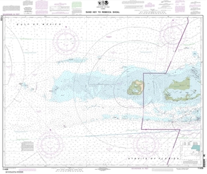Picture of 11439 - Sand Key To Rebecca Shoal Nautical Chart