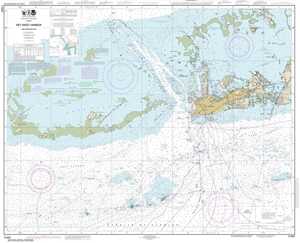 Picture of 11441 - Key West Harbor And Approaches Nautical Chart