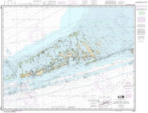 Picture of 11442 - Florida Keys - Sombrero Key To Sand Key Nautical Chart