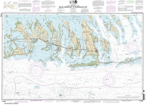 Picture of 11445 - Intracoastal Waterway - Bahia Honda Key To Sugarloaf Key Nautical Chart