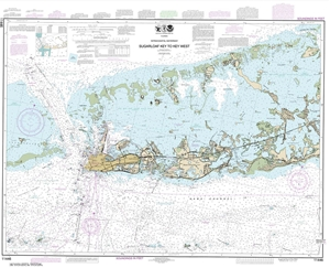 Picture of 11446 - Intracoastal Waterway - Sugarloaf Key To Key West Nautical Chart