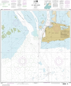 Picture of 11447 - Key West Harbor Nautical Chart