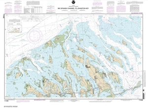 Picture of 11448 - Intracoastal Waterway - Big Spanish Channel To Johnston Key Nautical Chart
