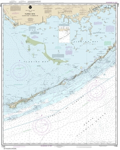 Florida Intracoastal Waterway Map.11452 Intracoastal Waterway Alligator Reef To Sombrero Key Nautical Chart