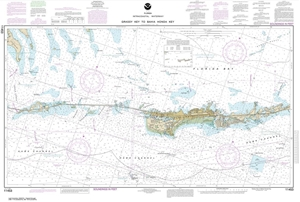 Picture of 11453 - Intracoastal Waterway - Florida Keys Grassy Key To Bahia Honda Key Nautical Chart